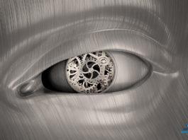 Robot's eye - Stock photography
