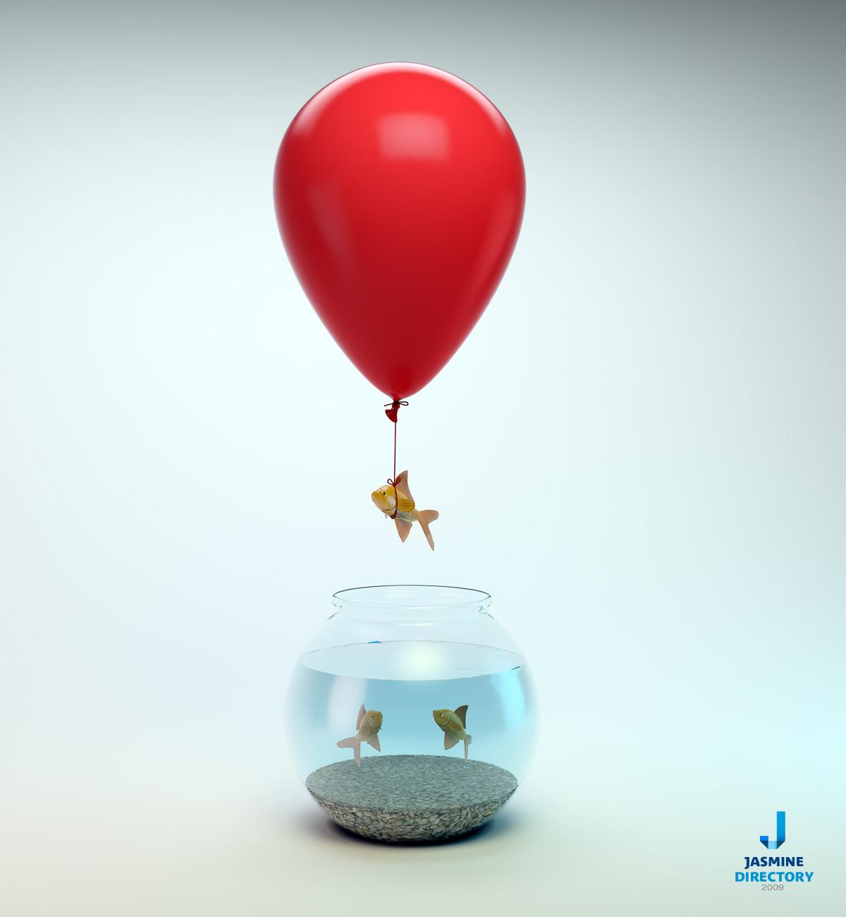 Balloon - Stock photography