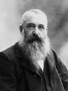 Claude Monet, photo by Nadar, 1899.
