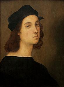 Portrait of Raphael.