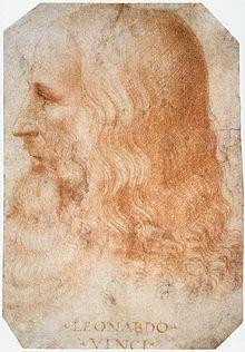 Portrait of Leonardo by Melzi