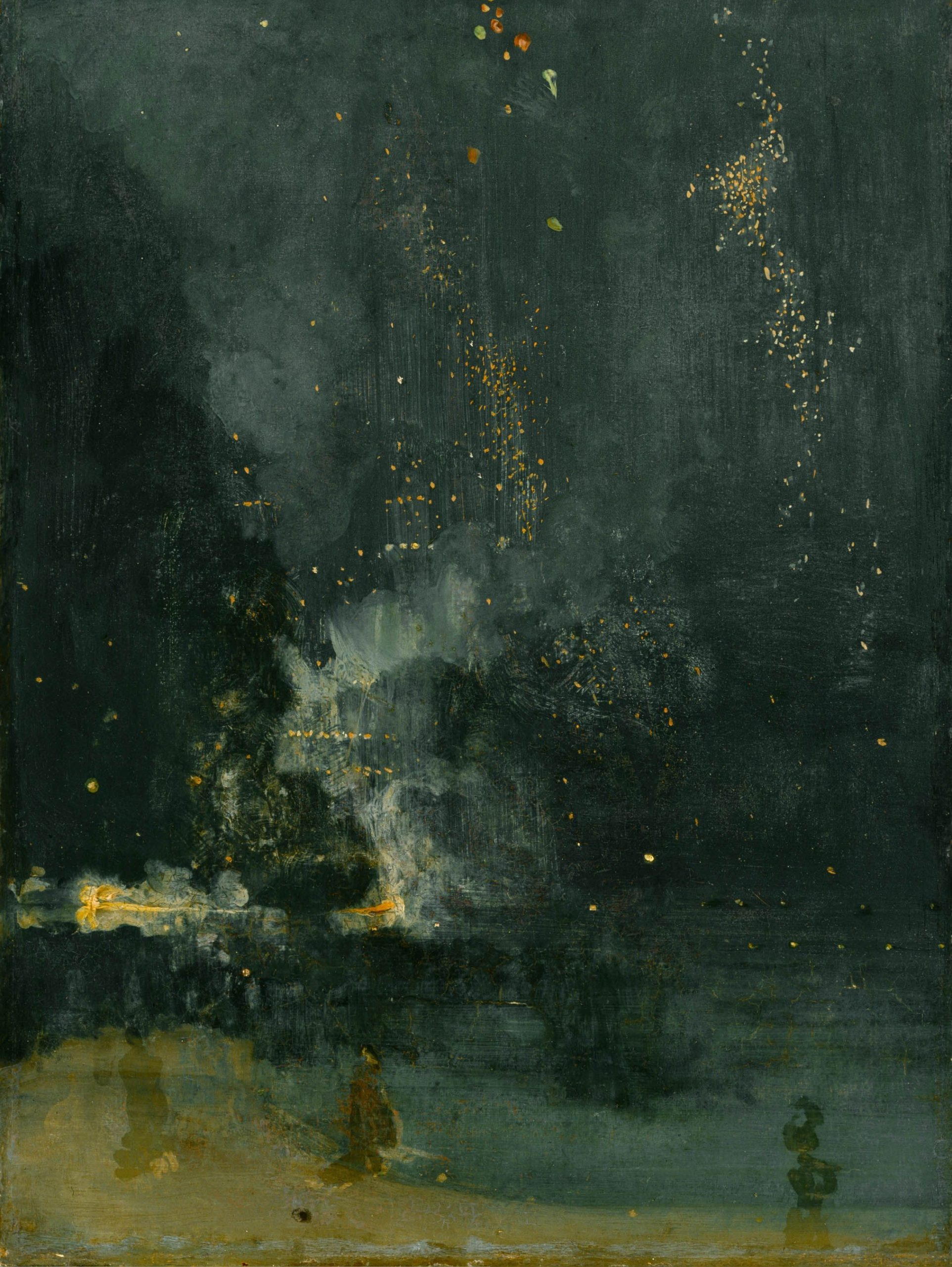 Nocturne in Black and Gold – The Falling Rocket - Detroit Institute of Arts