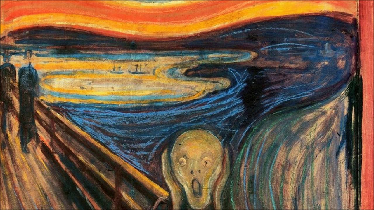 Painting - The Scream