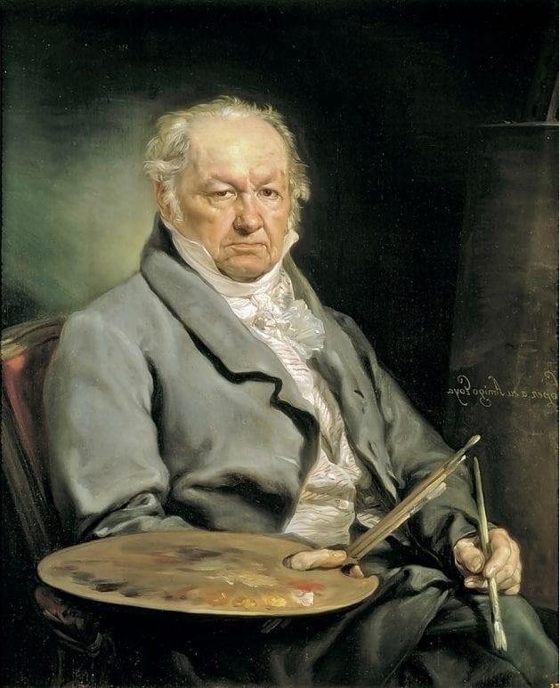Portrait of Goya by Vicente López Portaña, c. 1826. Museo del Prado, Madrid