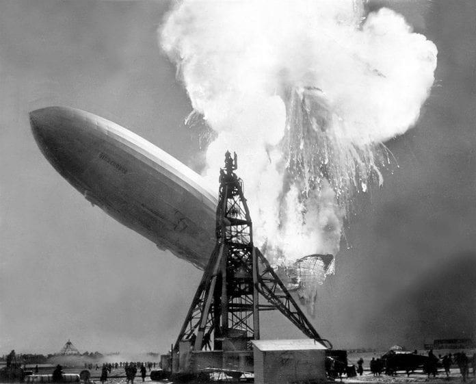 Hindenburg disaster - LZ 129 Hindenburg