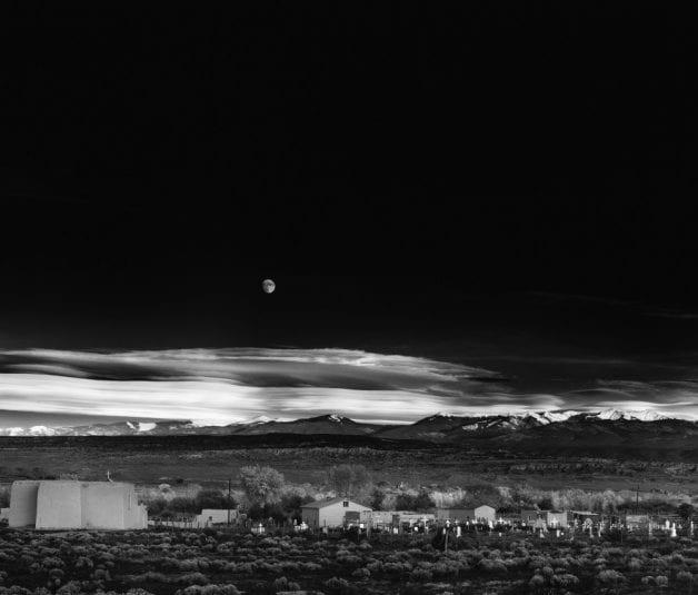 """Ansel Adam's """"Moonrise"""""""