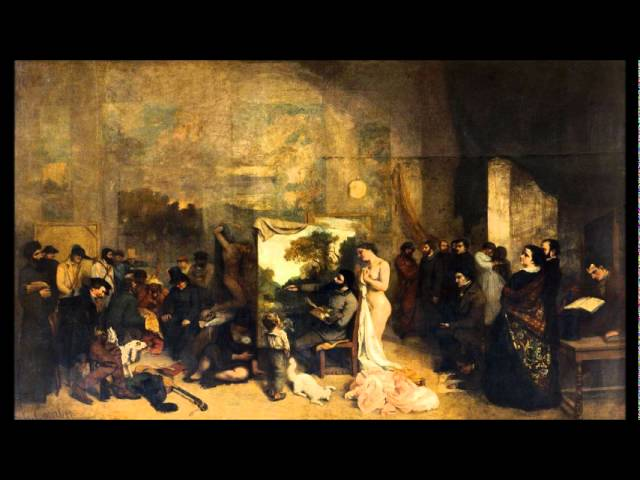 The Painter's Studio - Musée d'Orsay