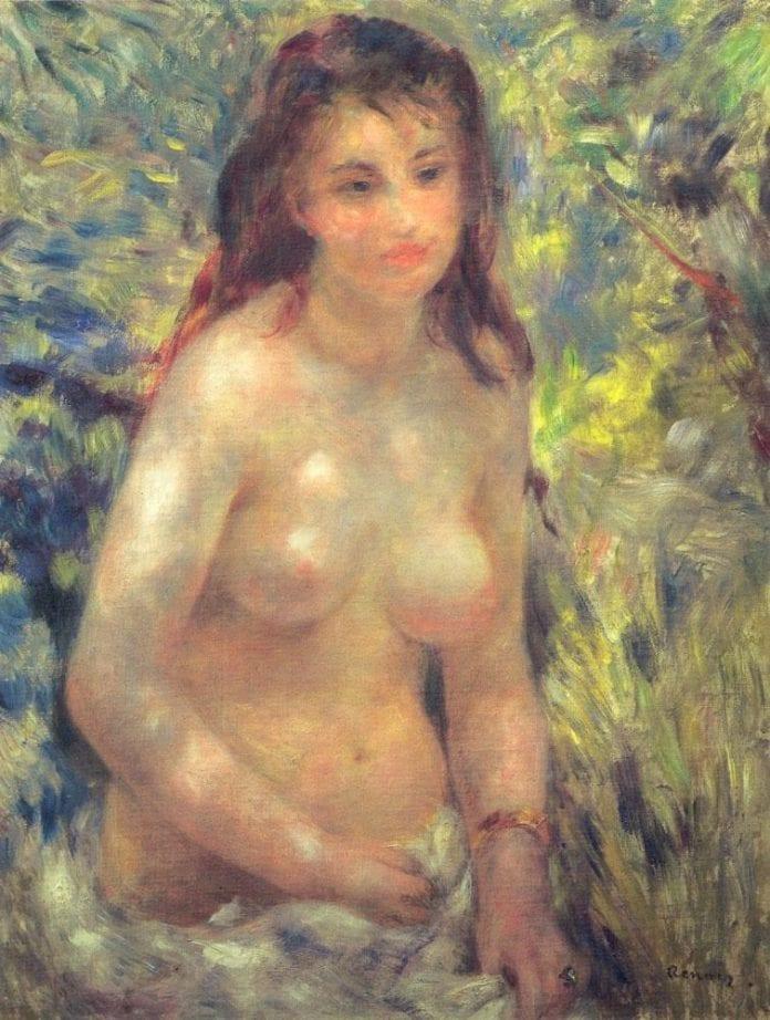 Study Torso Sunlight Effect - Musée d'Orsay