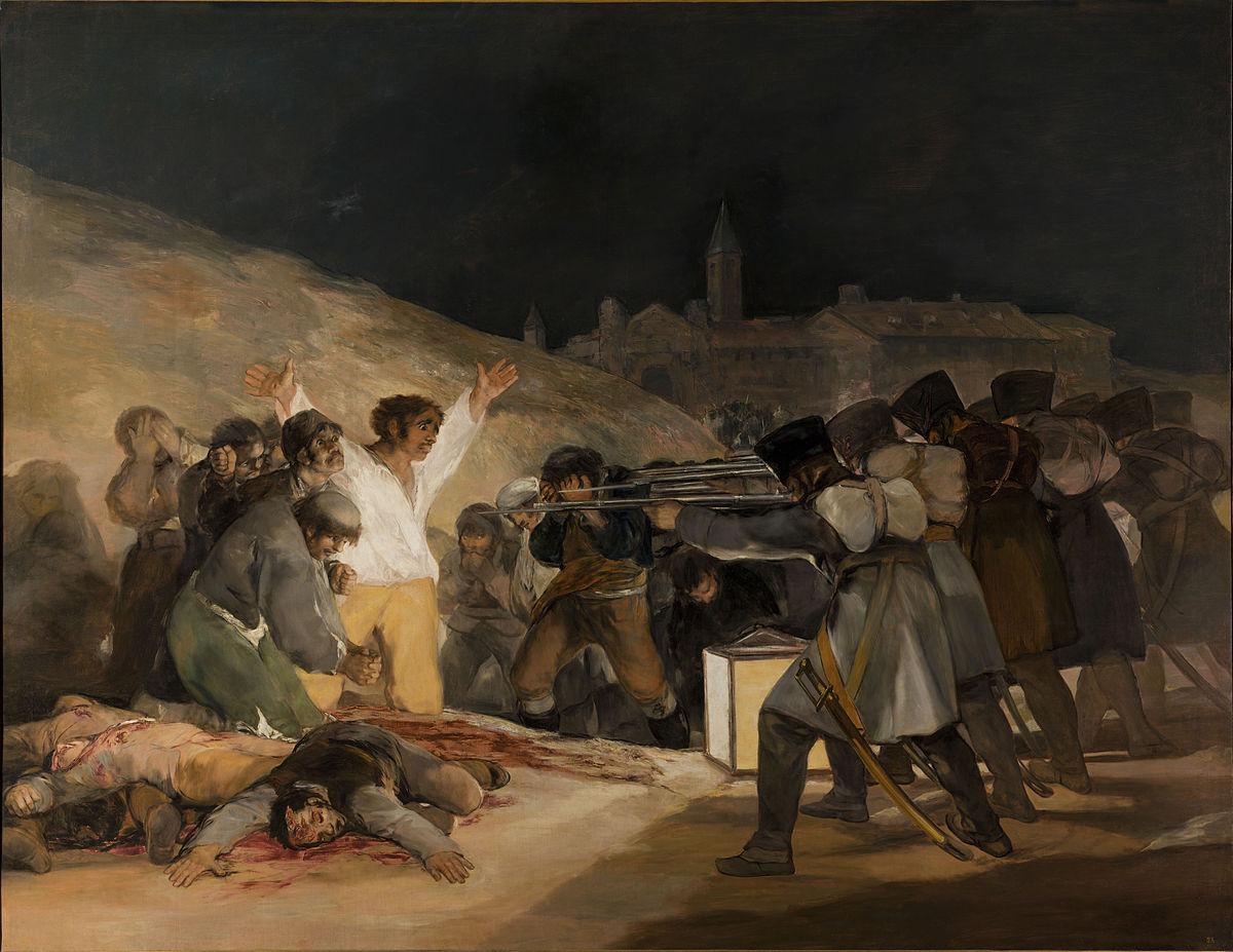The Third of May 1808 - Museo Nacional del Prado