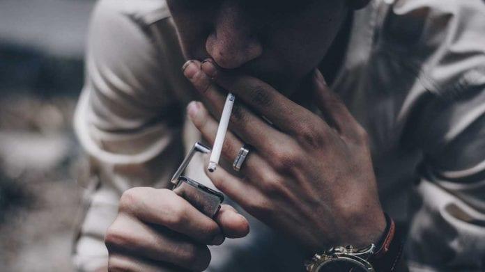 Menthol cigarette - Tobacco smoking