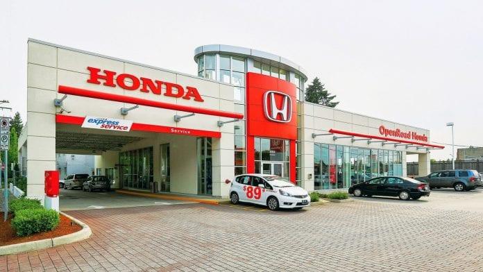 Car dealership - Honda Motor Company