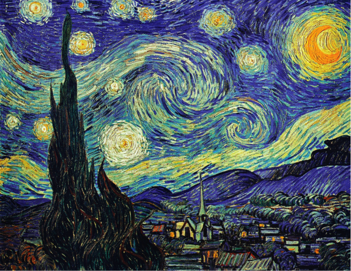 The Starry Night - Painting