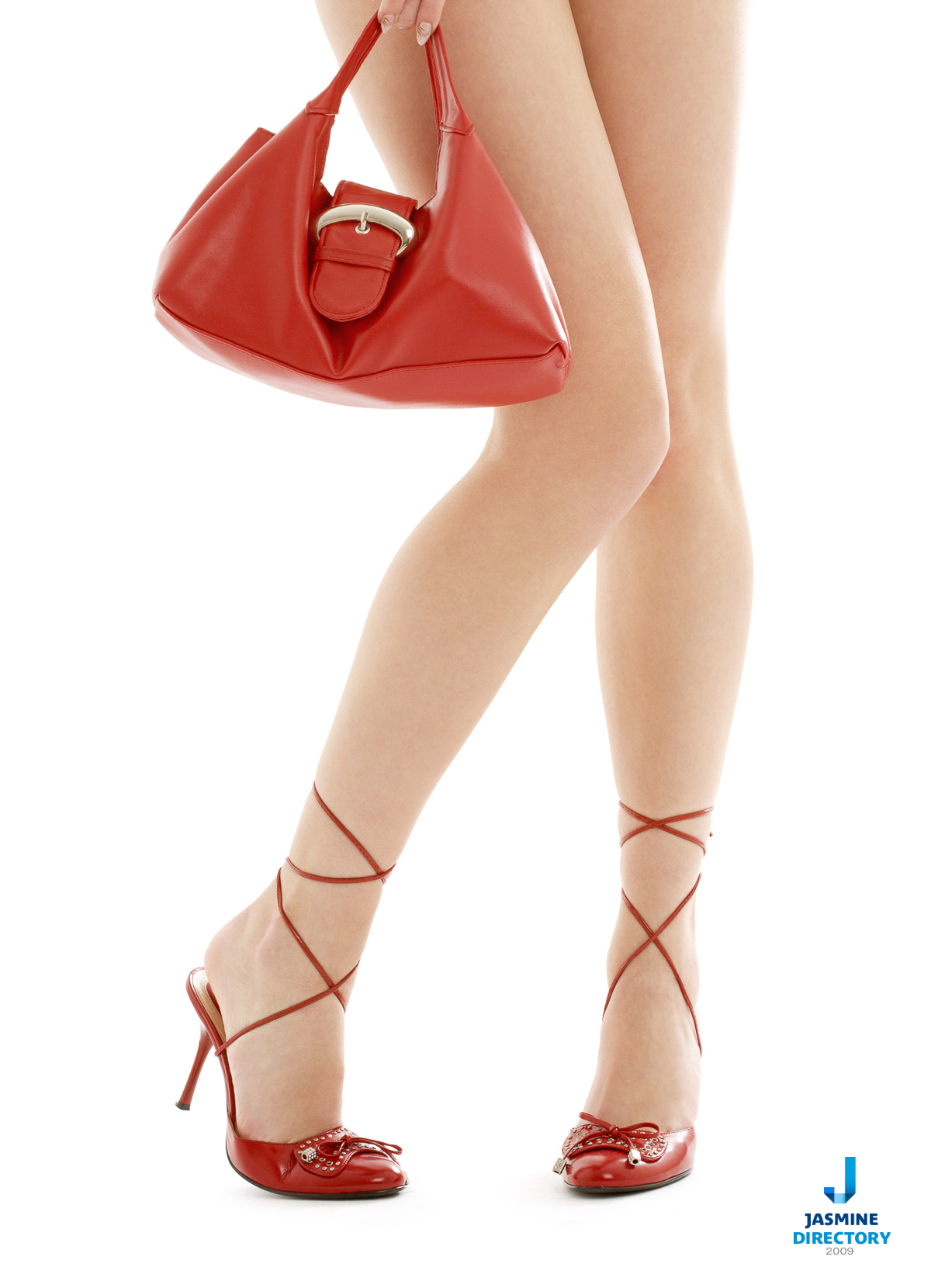 Handbag - High-heeled shoe