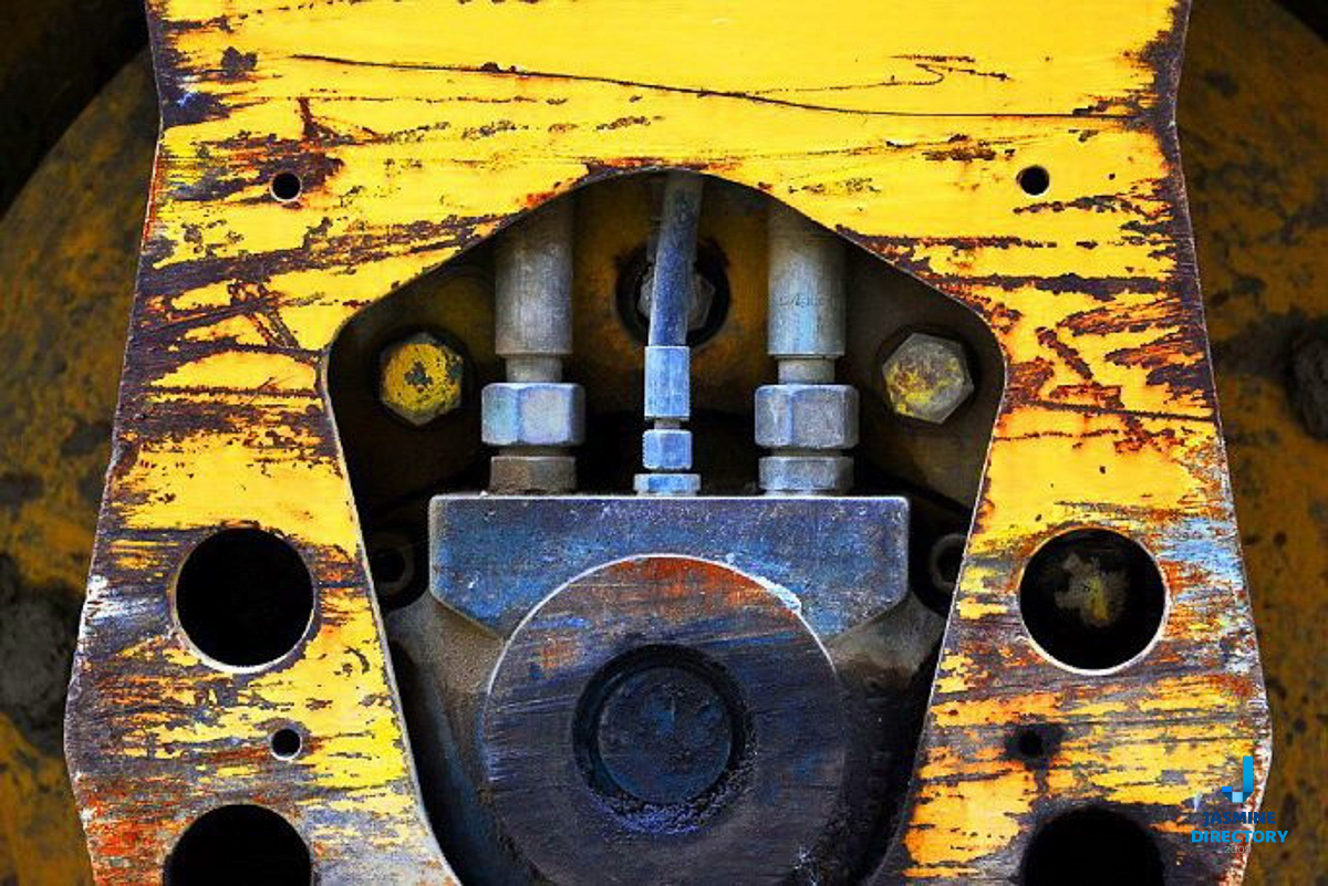Yellow Industrial machinery