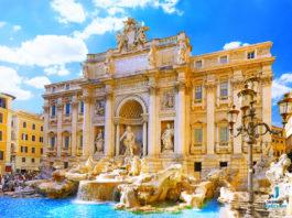 Trevi Fountain - Colosseum
