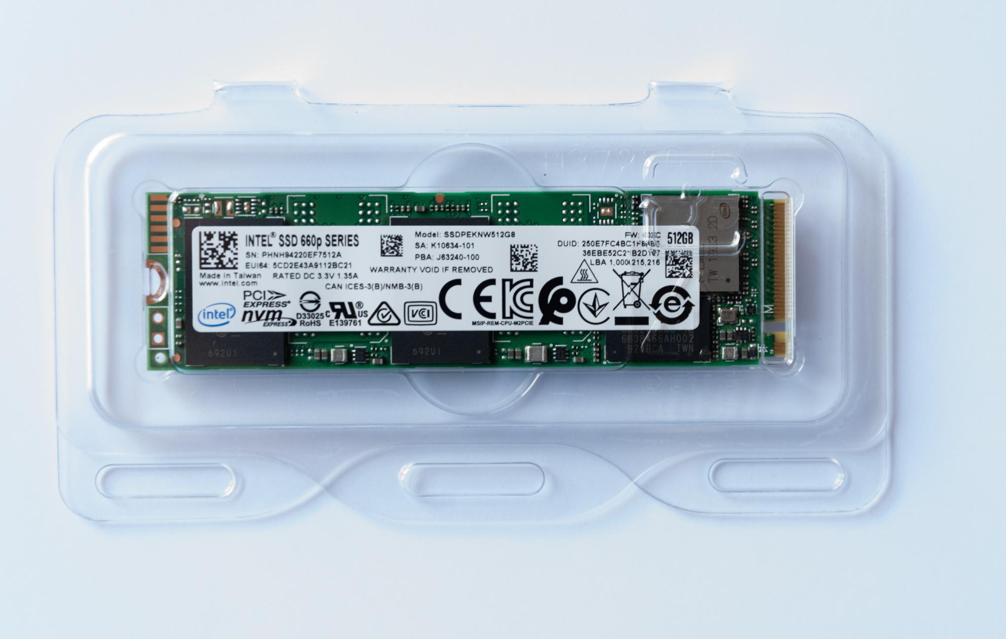 Intel 660p series m.2