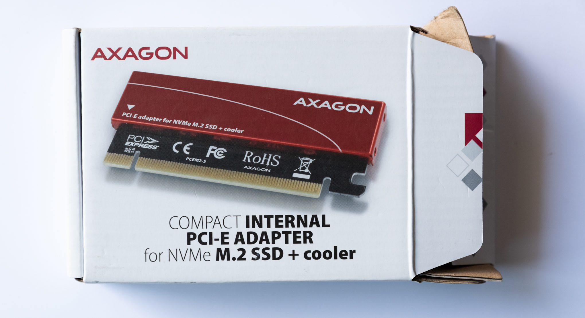 Axagon PCIE NVME M.2 ADAPTER
