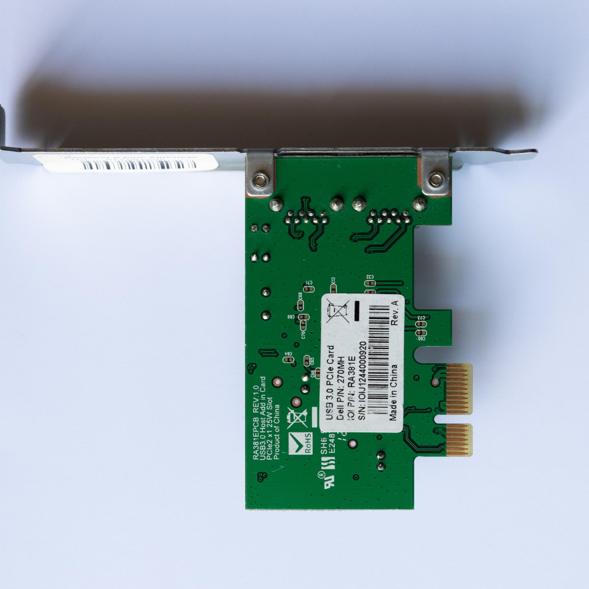 PCIE USB3.0 adapter Z800
