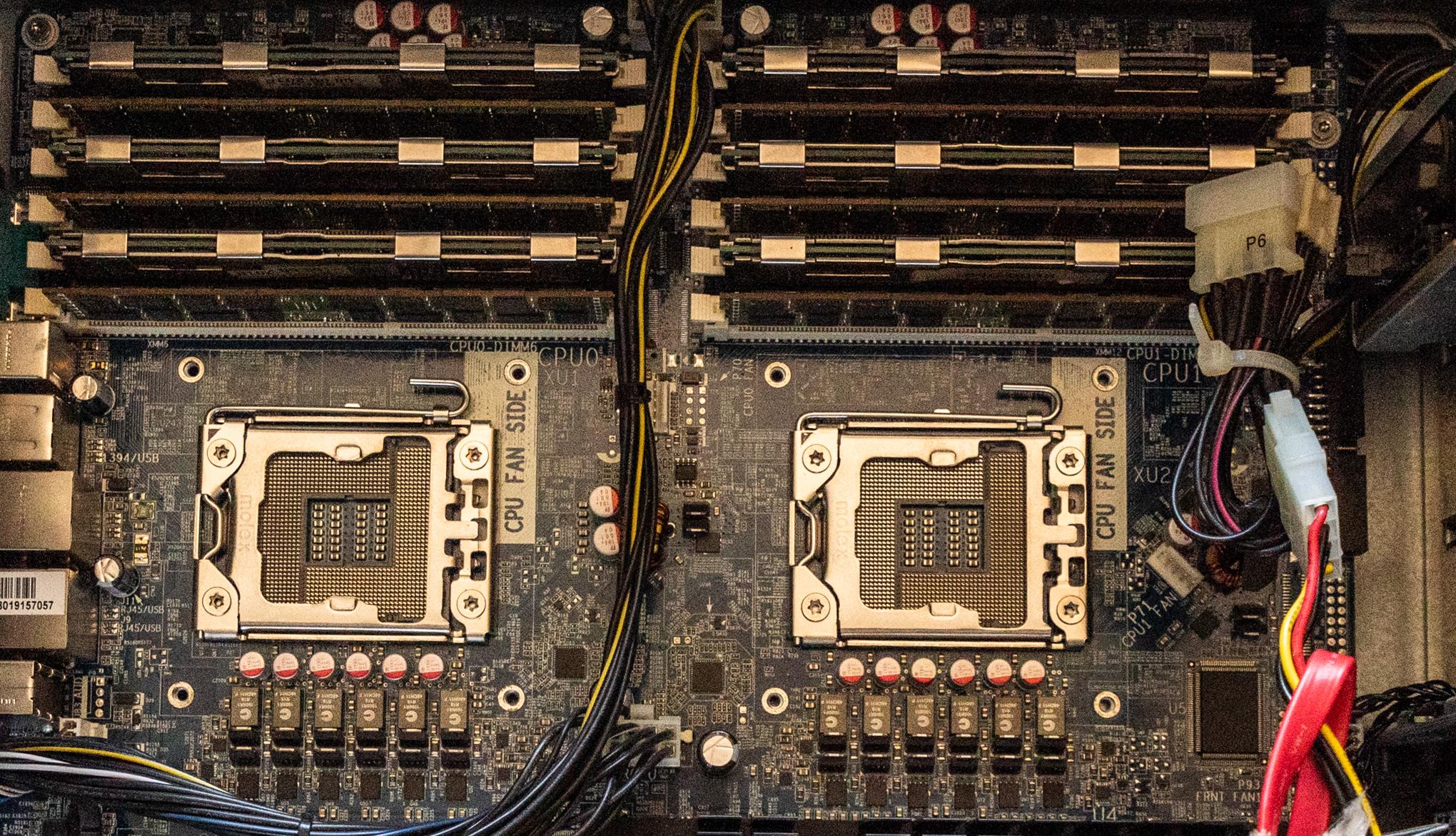 Z800 empty CPU slots