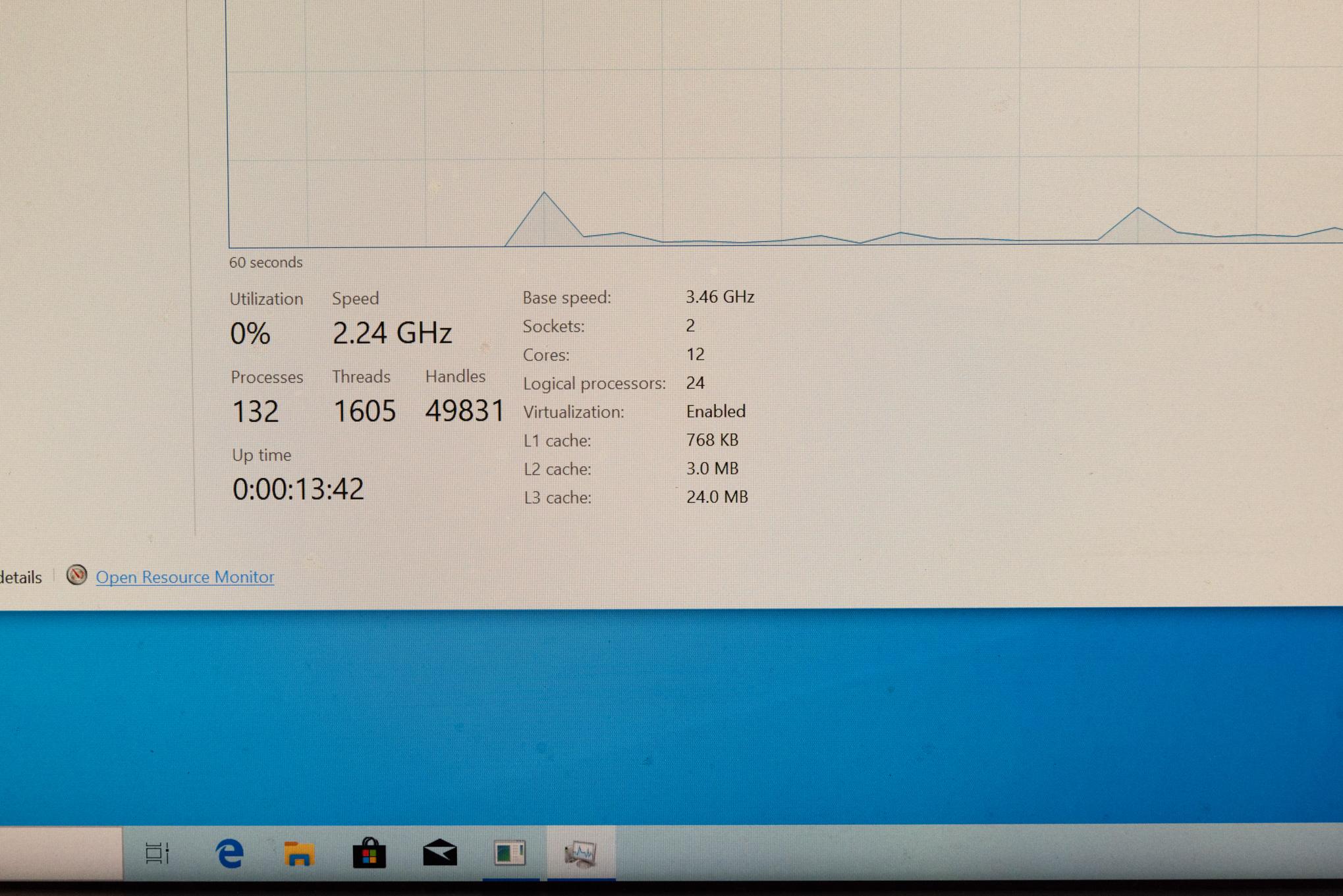 Z800 Dual Intel Xeon 5590 3.46 GHZ