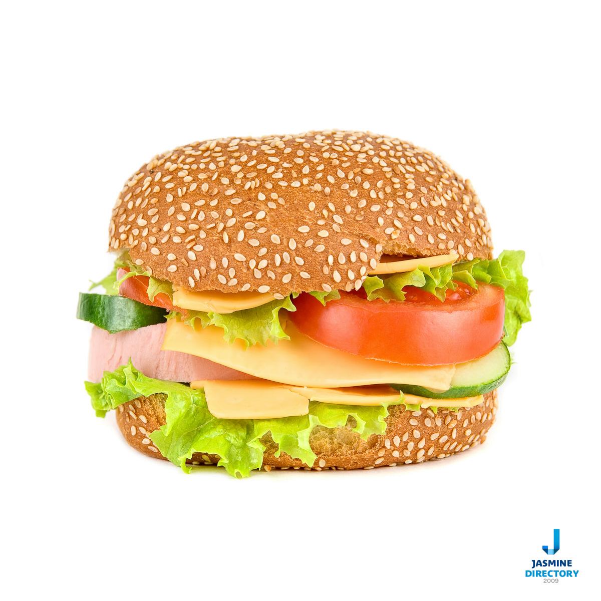 Hamburger-closeup-isolated-2