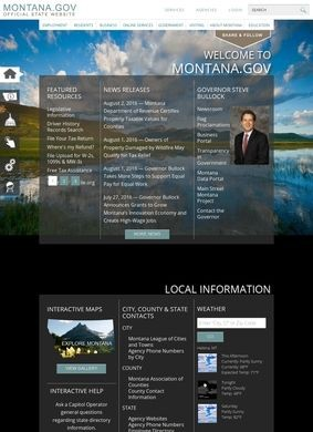 Montana's Official State Website