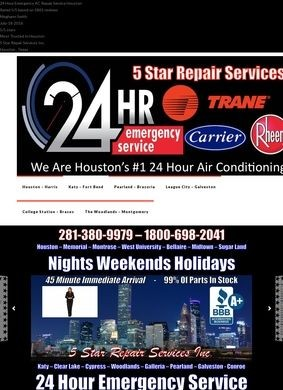 5 Star Repair Services Inc.