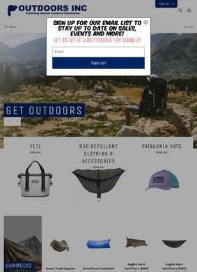 Outdoors Inc.