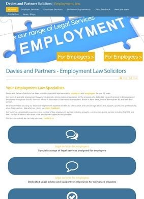 Employment Law Specialist Solicitors from Davies and Partners