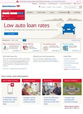 Bank Of America's Mortgages