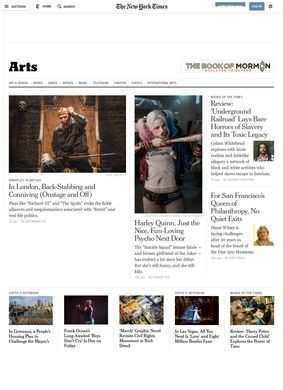 Arts - The New York Times