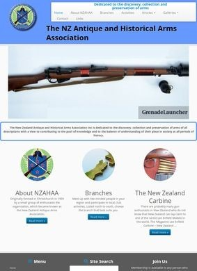 New Zealand Antique Arms Association Inc.