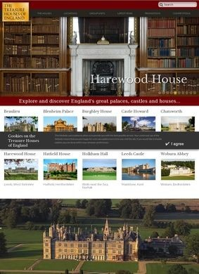 Treasure Houses of England
