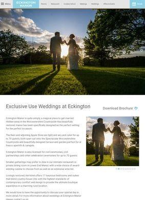 Eckington Manor Wedding Venue