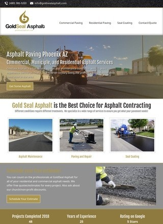 Gold Seal Asphalt