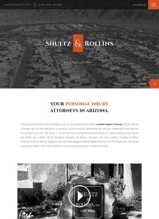 Car Accident Lawyer Tucson, Shultz & Rollins Law Firm