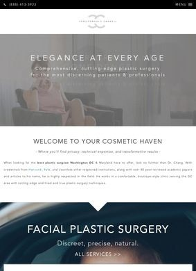 Dr. Christopher Chang: Pastic Surgery Washington DC