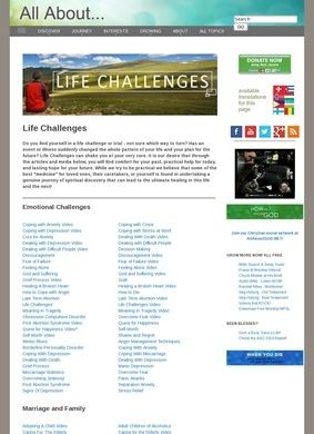 All About Life Challenges