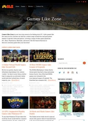 Games Like Zone