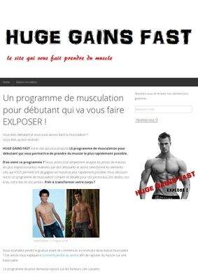 Build Muscle Fast With Huge Gains Fast