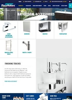 Place Makers: Bathroom Accessories