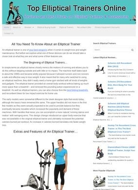 Elliptical Trainer: Reviews Of The Best Elliptical Trainers