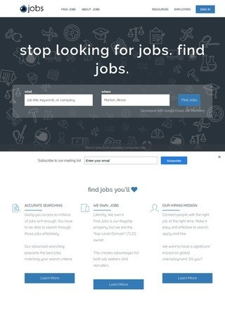 Find.jobs - Find jobs, quicker, better, smarter