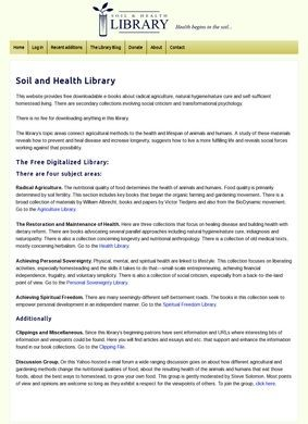 Soil and Health Library