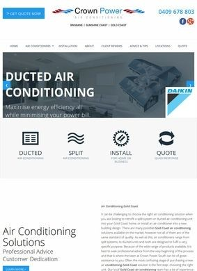 Crown Power South: Air Conditioning Gold Coast