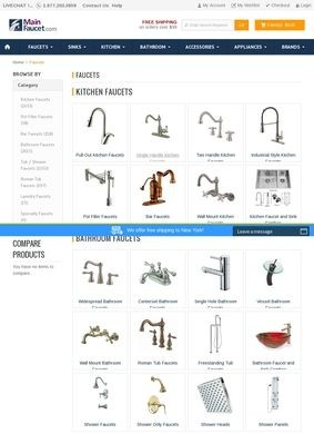 Mainfaucet.com: Bathroom Faucets