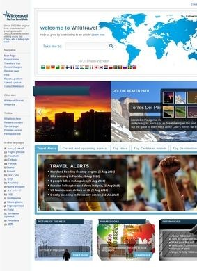 Worldwide Travel Guides - Wikitravel