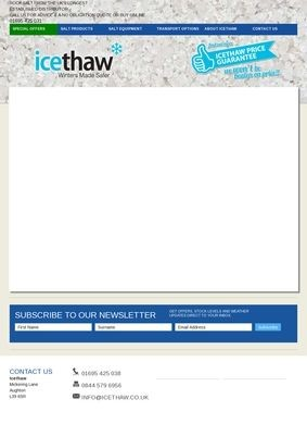 Icethaw: Rock Salt Supplier