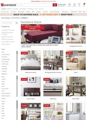 Overstock.com: Furniture