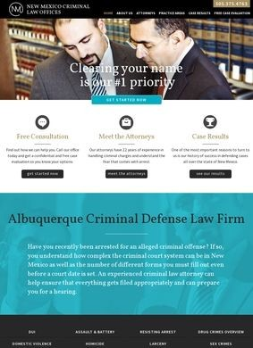 New Mexico Criminal Law Offices: Albuquerque Attorneys